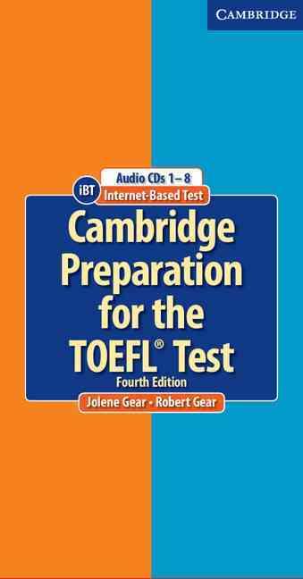 [CD] Cambridge Preparation for the Toefl Test By Gear, Jolene/ Gear, Robert